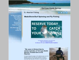 stmaartenfishinginshore.com screenshot