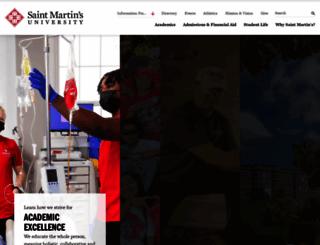 stmartin.edu screenshot