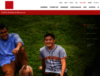 stmarys-ca.edu screenshot