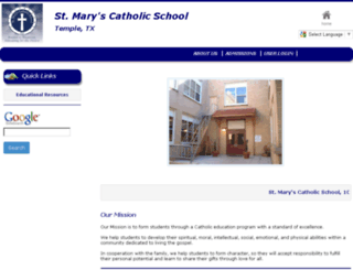stmarys-temple.eduk12.net screenshot