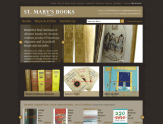 stmarysbooks.com screenshot