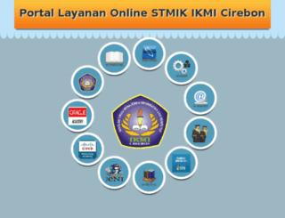 stmik-ikmi-cirebon.net screenshot
