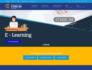 stmik-im.ac.id screenshot