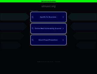 stmusic.org screenshot