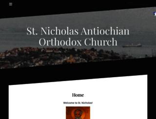 stnicholas-sf.com screenshot