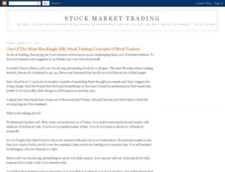 stock-market-trading-master.blogspot.com screenshot