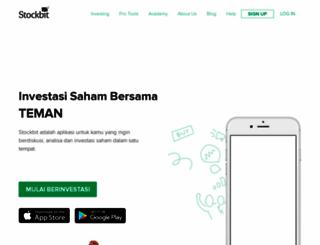 stockbit.com screenshot