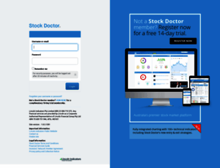 stockdoctor.com.au screenshot