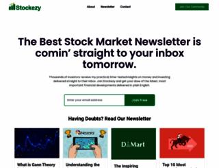 stockezy.com screenshot