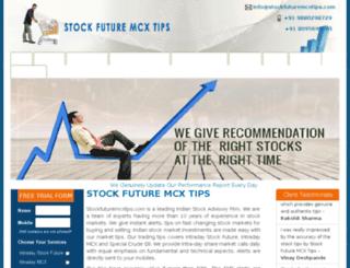 stockfuturemcxtips.com screenshot
