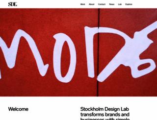 stockholmdesignlab.se screenshot