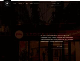 stockholmhostel.se screenshot