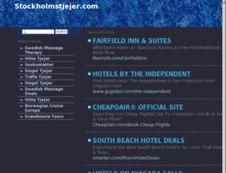 stockholmstjejer.com screenshot
