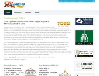 stockjunction.com screenshot