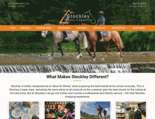 stockleyonline.co.uk screenshot