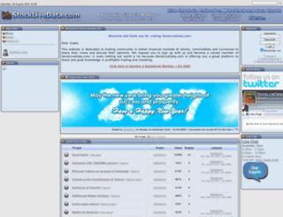 stocklivedata.com screenshot