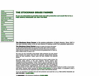 stockmangrassfarmer.net screenshot