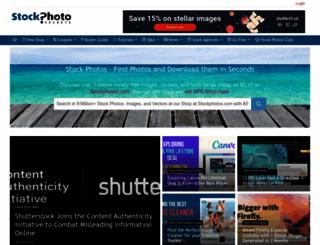 stockphotosecrets.com screenshot