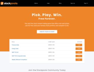 stockpools.com screenshot