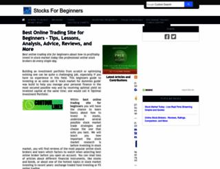 stocks-for-beginners.com screenshot