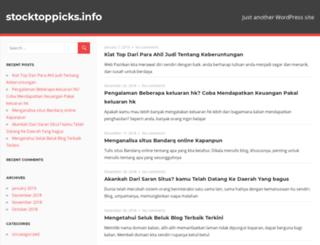 stocktoppicks.info screenshot