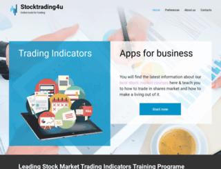 stocktrading4u.com screenshot
