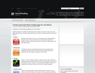 stocktradingonline.net screenshot