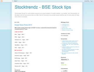 stocktrendz.net screenshot
