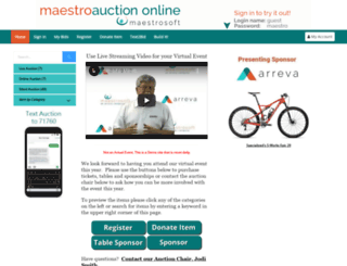 stoddert.maestroweb.com screenshot