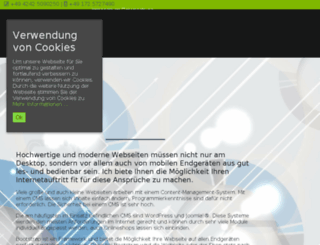 stoeverwebdesign.de screenshot