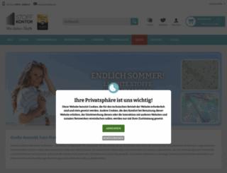 stoffkontor.eu screenshot