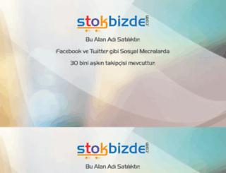 stokbizde.com screenshot