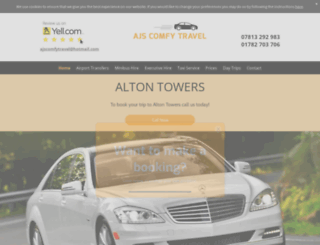 stoke-on-trent-taxis.co.uk screenshot