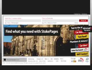 stokepages.co.uk screenshot