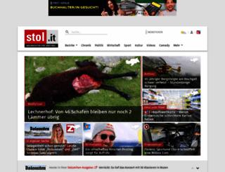 Access stol it  Stol it: Nachrichten für Südtirol