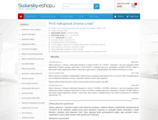 stolarsky-eshop.cz screenshot