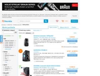stolni-pocitace.heureka.cz screenshot