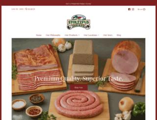 stoltzfusmeats.com screenshot