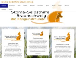 stoma-selbsthilfe-bs.de screenshot