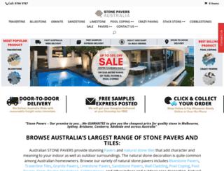 stone-pavers.com.au screenshot