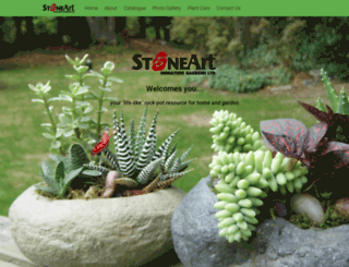 stoneartgardens.com screenshot