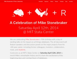 stonebraker70.com screenshot