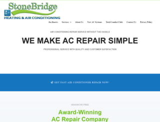 stonebridgeac.com screenshot
