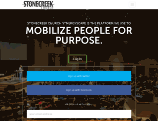 stonecreek.synergyscape.com screenshot