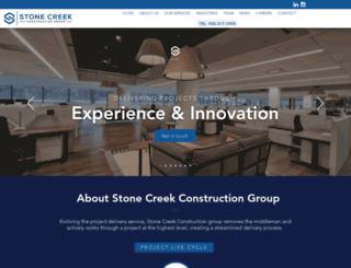 stonecreekbldrs.com screenshot