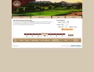 stonecreekgc.quick18.com screenshot