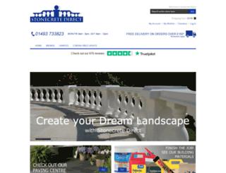stonecrete-direct.co.uk screenshot