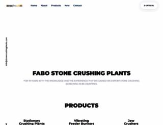 stonecrushingplants.com screenshot