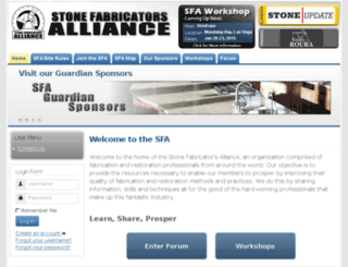 stonefabricatorsalliance.com screenshot