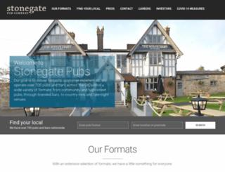 stonegatepubs.co.uk screenshot